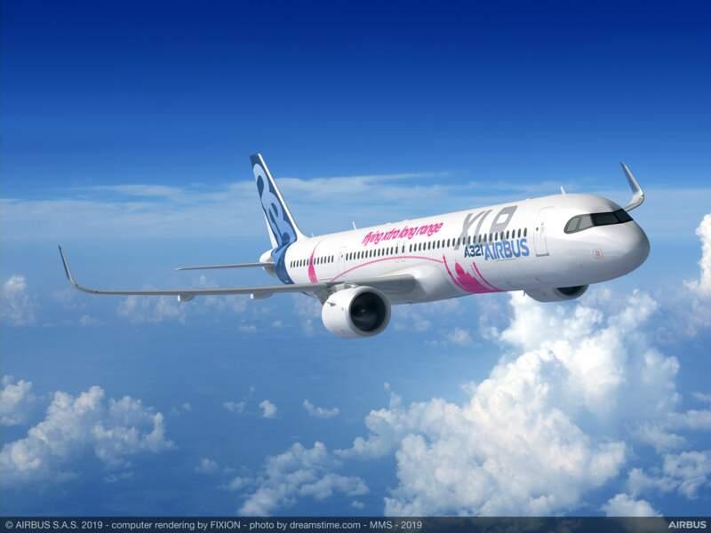 L'A321 XLR d'Airbus