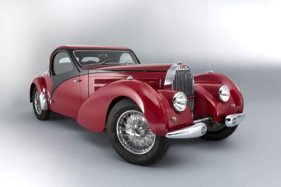 1. Bugatti Type 57C coupé Atalante de 1938