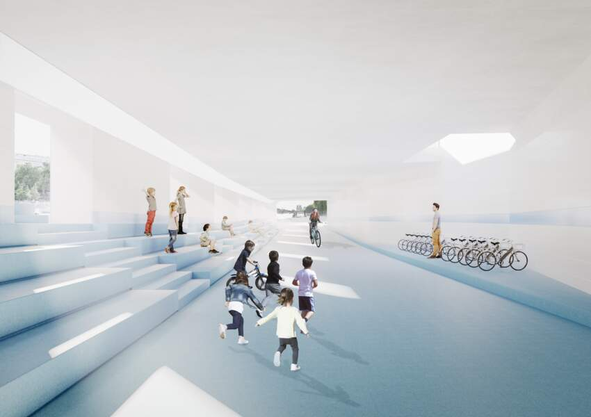 4 - Une nouvelle aire de jeux et de culture dans le tunnel Henri IV