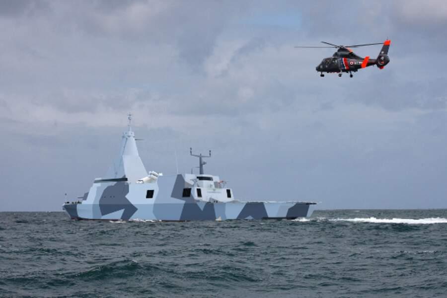 Combattante MkII, l'ultime version de la corvette de CMN
