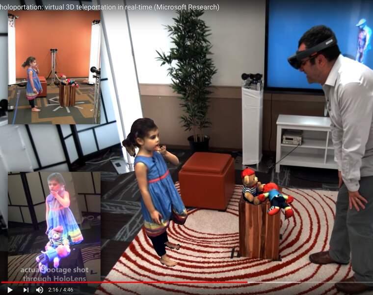 On pourra discuter avec l'hologramme d'un ami au bout du monde