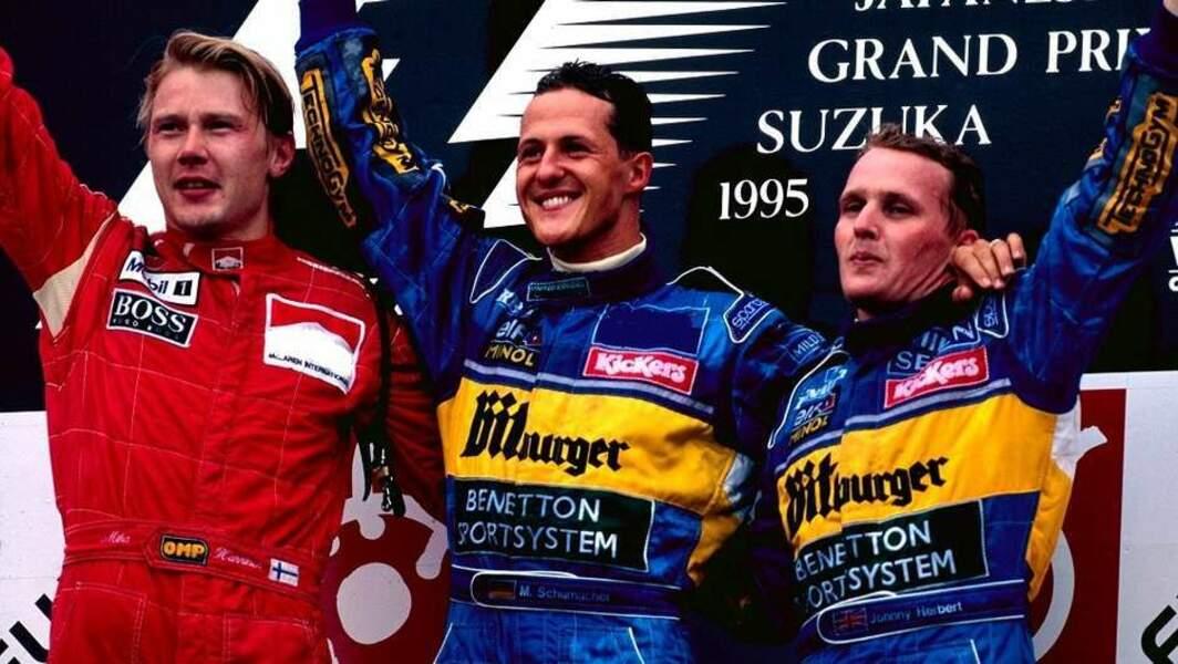 1995 : Schumacher gagne avec Benetton