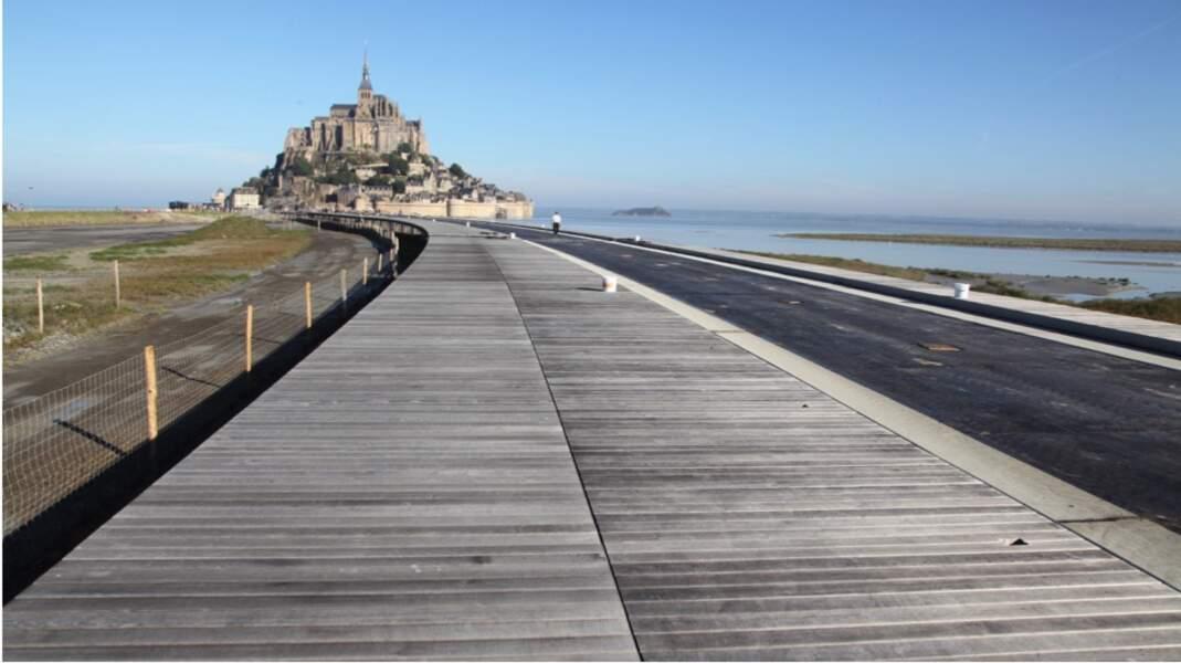 Passerelle du Mont Saint Michel (2014)