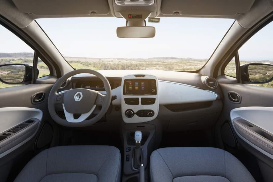 L'intérieur de l'ancienne Renault Zoe