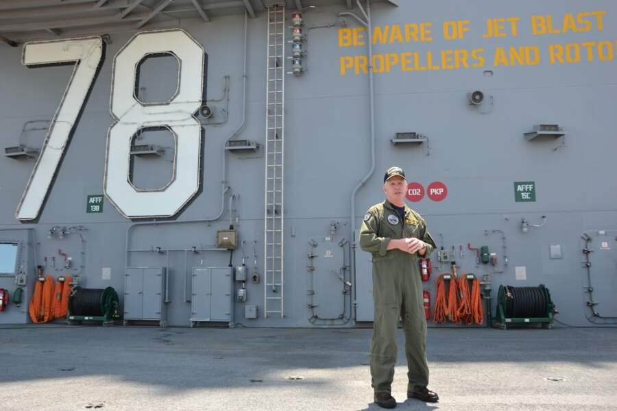 Le pacha de l'USS Ford