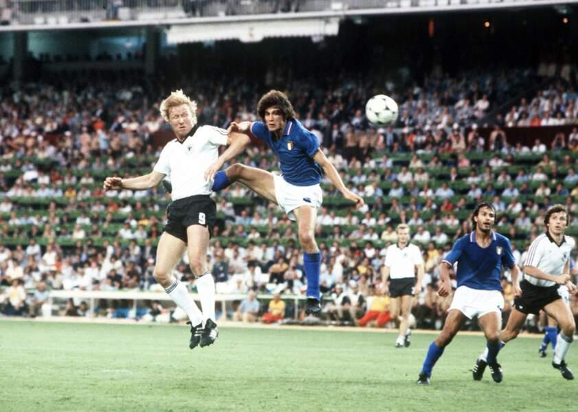 Finale de la Coupe du monde de 1982 : Italie 3 - RFA 1