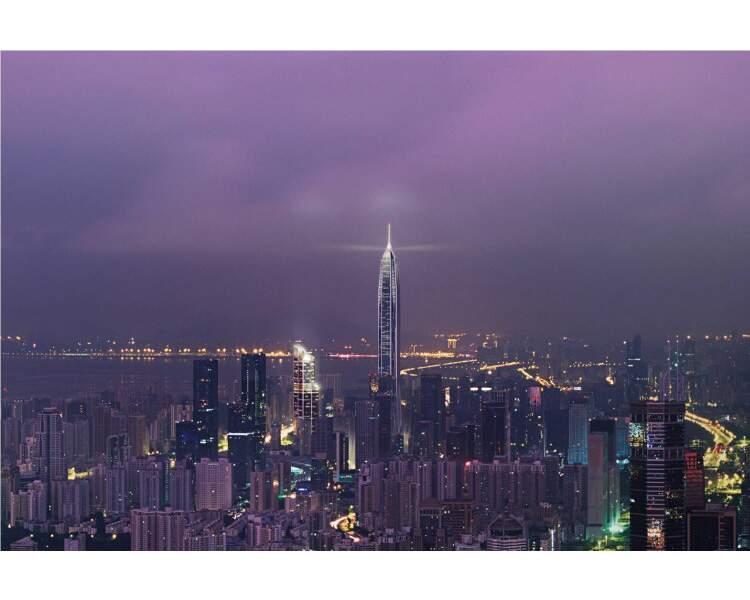 N°8 - Ping An International Finance Center à Shenzen (Chine)