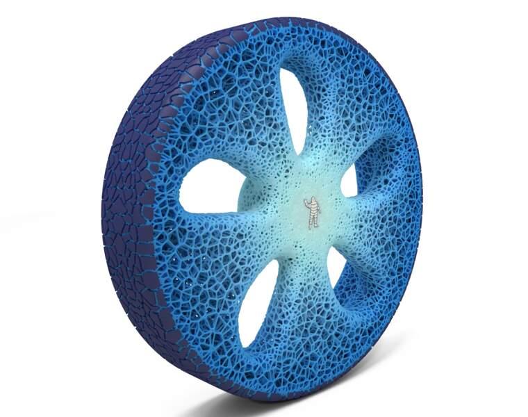 Les pneus à vie seront réimprimables à volonté