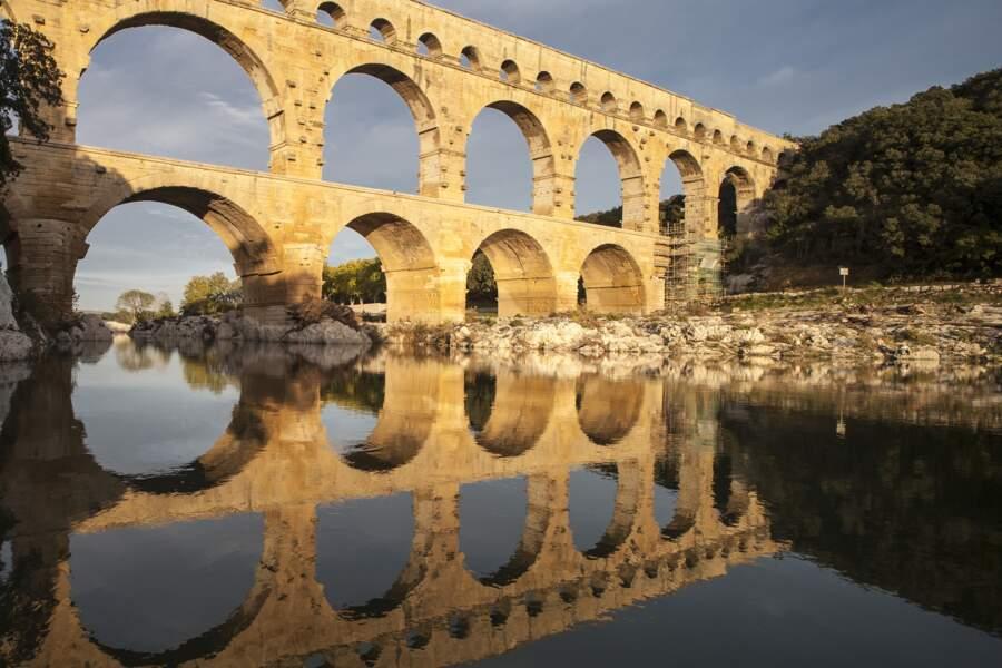 Le pont du Gard - L'aqueduc le plus haut du monde romain