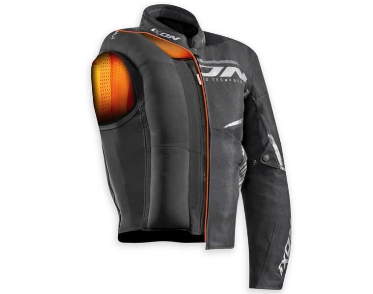 Les vestes de motard se transformeront en airbag en cas de chute