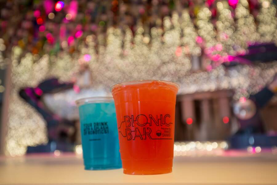 Les robots barmen du Bionic Bar