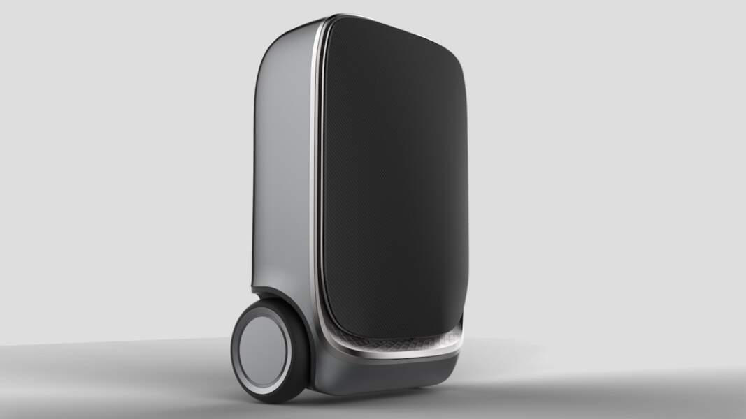 Une valise autonome qui vous suit partout