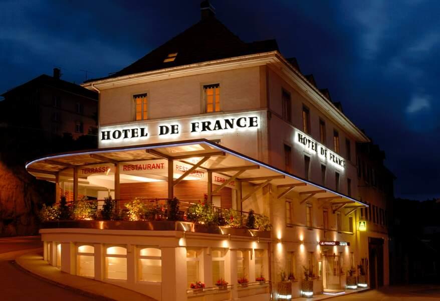Restaurant Le France, Villers-le-Lac (Doubs)