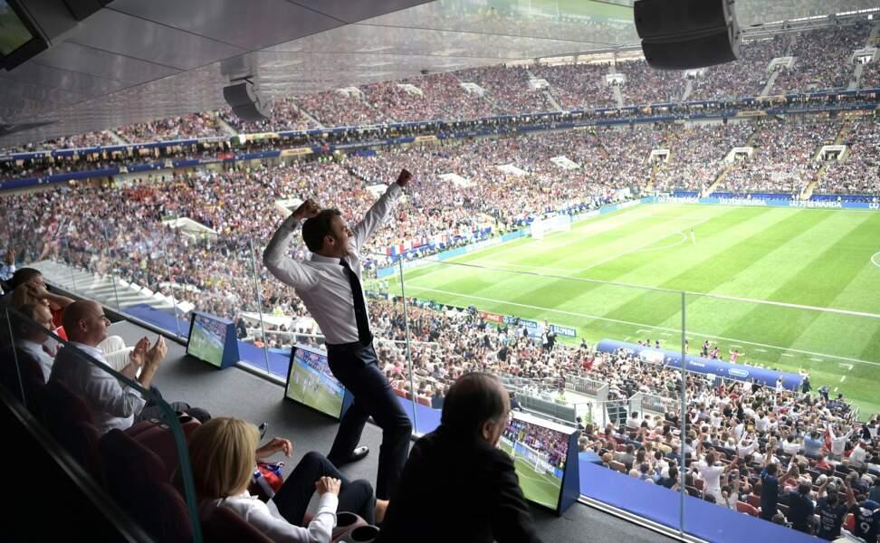 Finale de la Coupe du monde de 2018 : France 4 - Croatie 2
