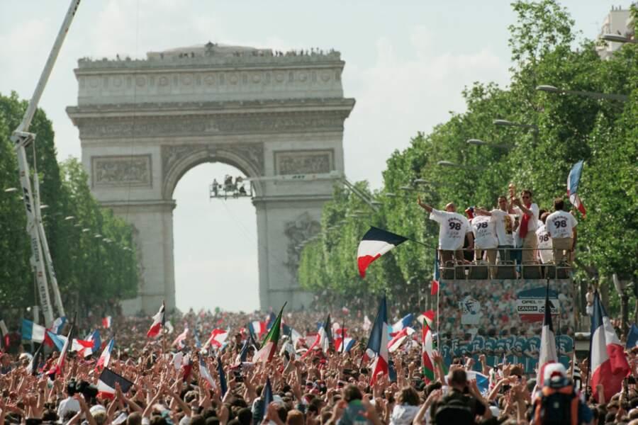 Finale de la Coupe du monde de 1998 : France 3 - Brésil 0