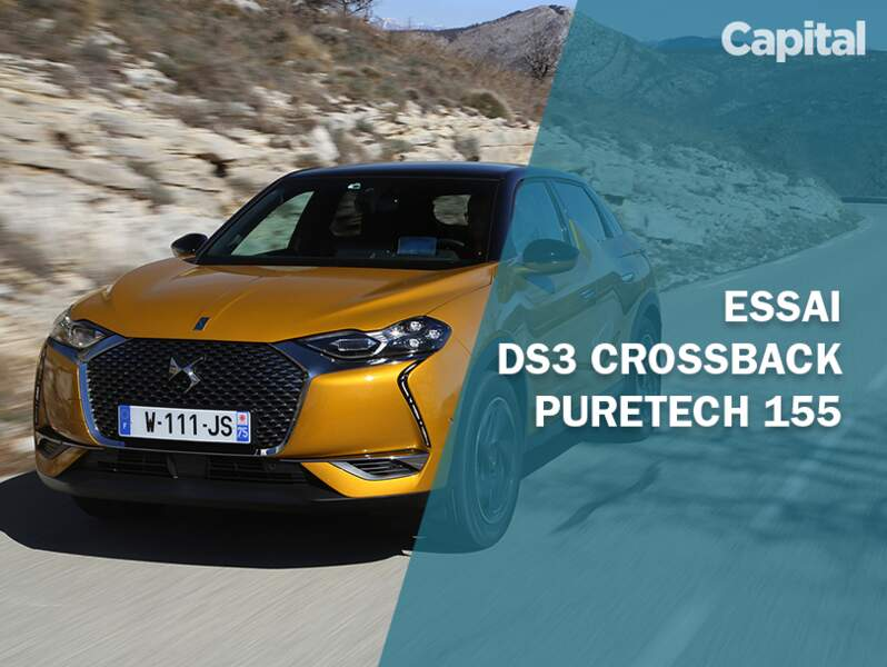 Essai DS3 Crossback PureTech 155 Performance Line +