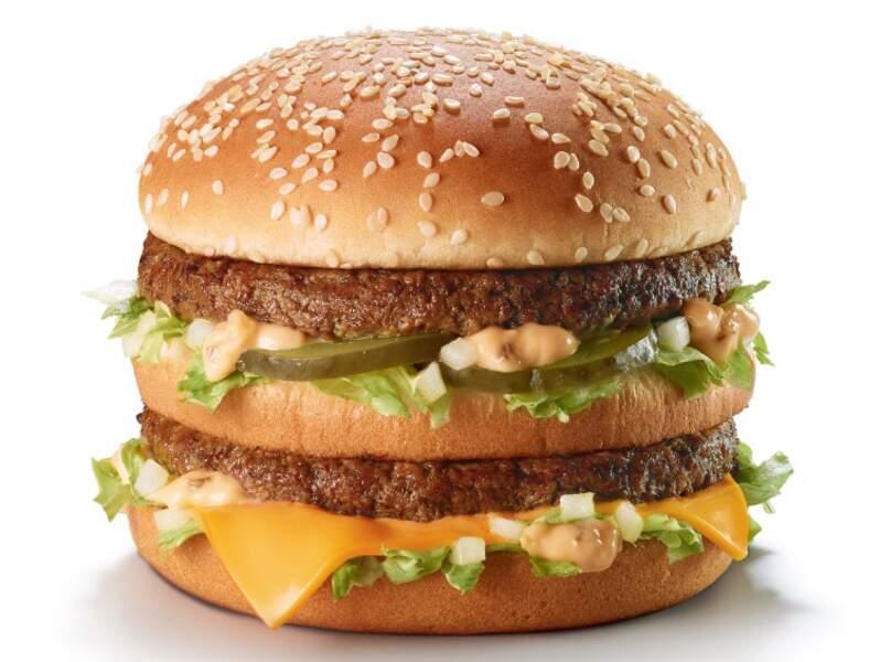 Big Mac : 2 steaks obligatoires pour le produit phare de McDo