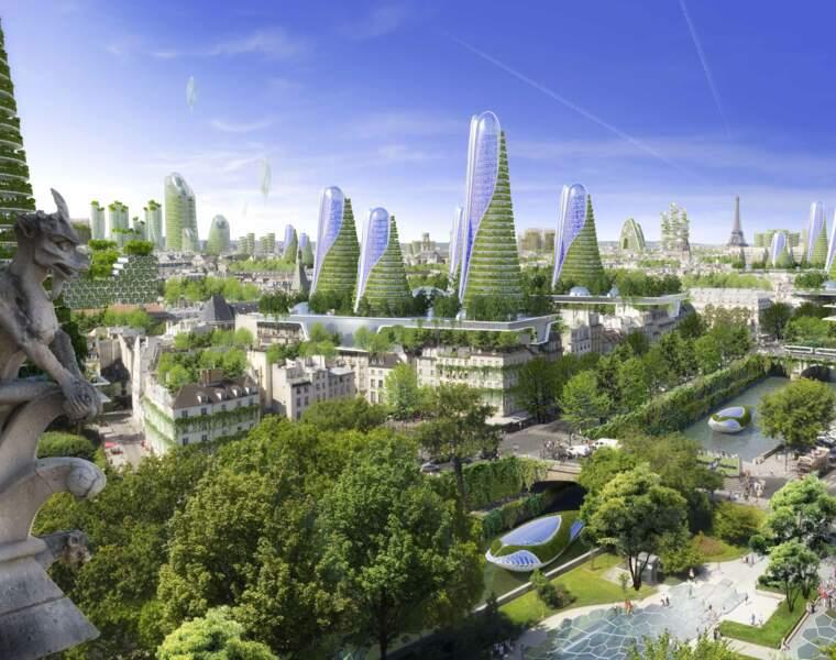 8 projets futuristes répondant aux grands défis urbains et écologiques du 21ème siècle
