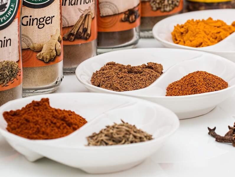Sel, Poivre, Épices aromatiques
