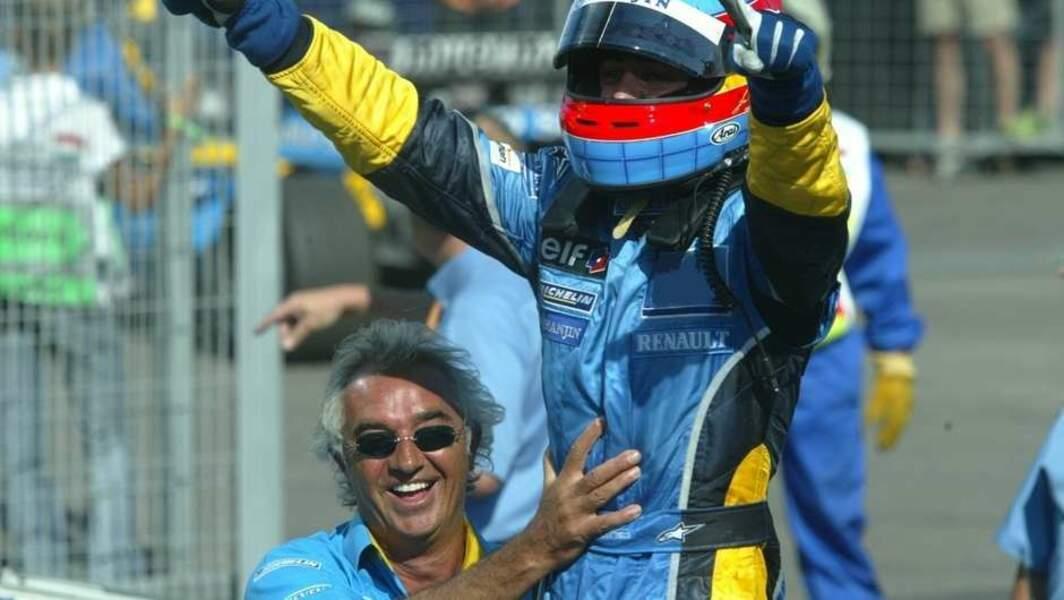 2003 : Renault gagne son 1er Grand Prix