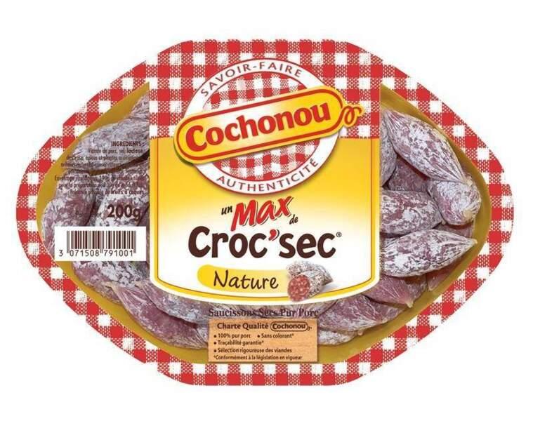 Croc'sec nature Cochonou
