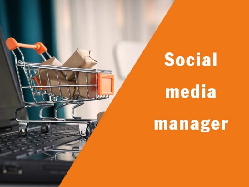 Social media manager - Il supervise le marketing sur les réseaux sociaux