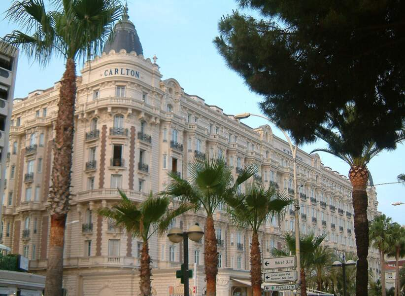 Hôtel Carlton, Cannes