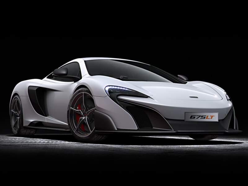McLaren 675LT : un monstre à quatre roues à 360.000 euros