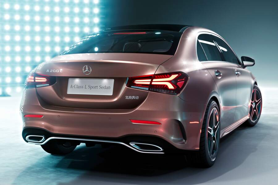 Mercedes-Benz Class A… Tricorps !
