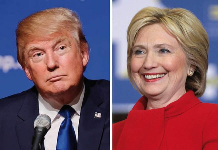 Trump vs. Clinton : portrait croisé de deux candidats que tout oppose
