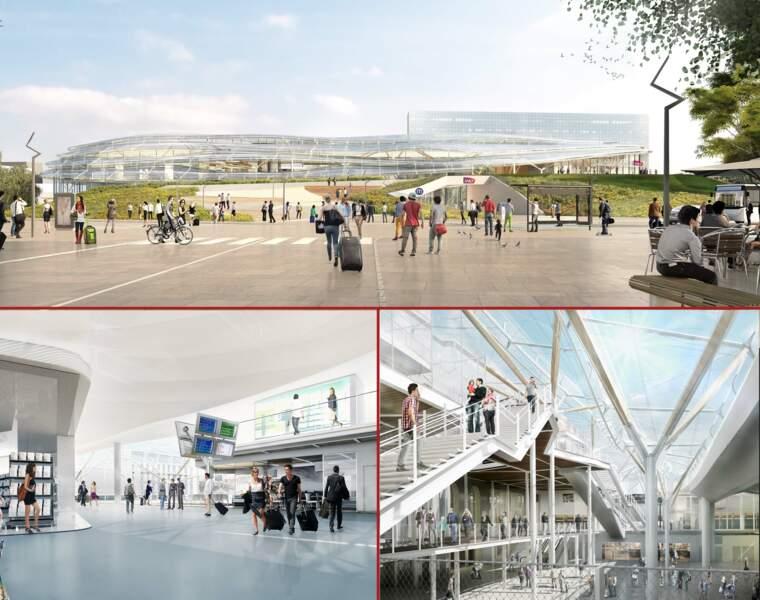 Plus belle, plus fonctionnelle, la gare de Rennes se métamorphose
