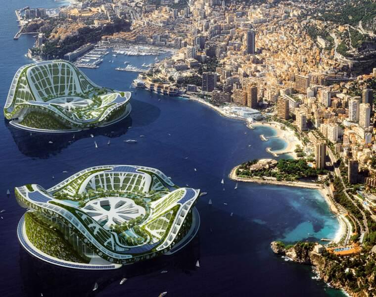 Lilypad, une éco-ville flottante pour réfugiés climatiques