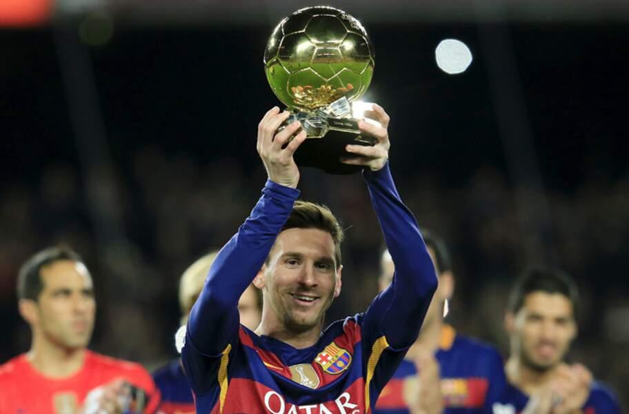 Lionel Messi, l'attaquant aux 6 Ballons d'or