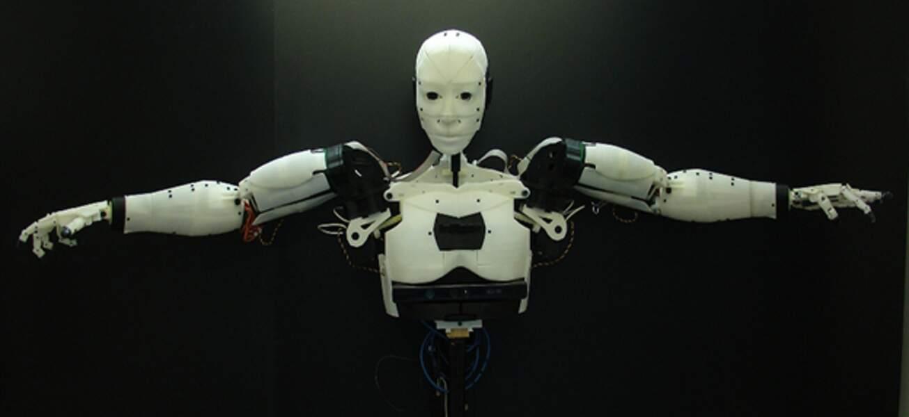 InMoov, le robot imprimé en 3D