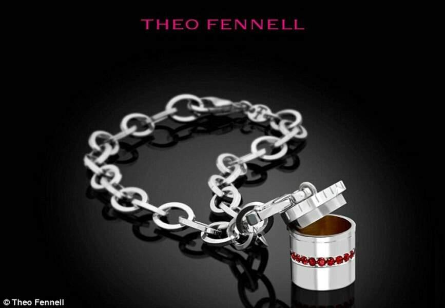 Un bracelet en or pour la crème contre l'érythème fessier