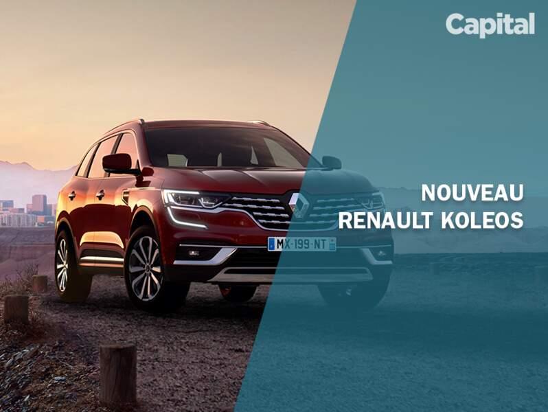 Quoi de neuf pour le Renault Koleos 2019 ?