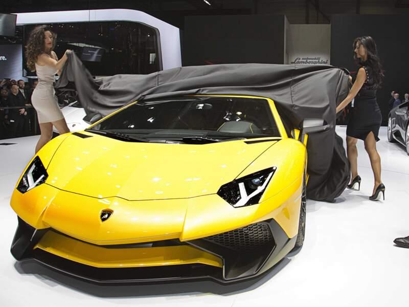 Lamborghini Aventador LP 750-4 Superveloce : un taureau dopé aux hormones