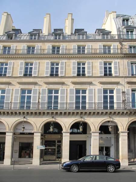 Le 232, rue de Rivoli, Paris 1er