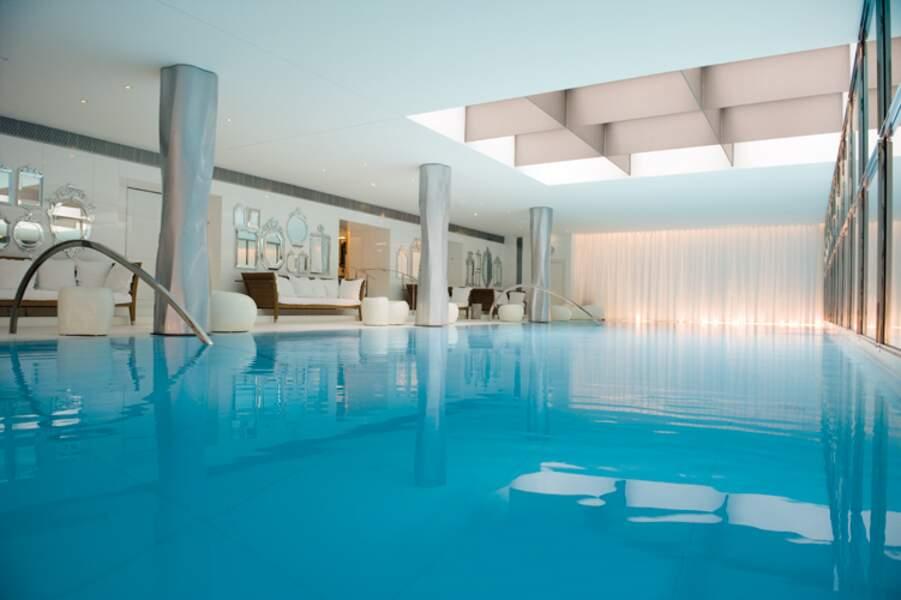 Royal Monceau : une piscine de 23 mètres