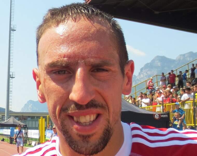 N°6 : Franck Ribéry (football)