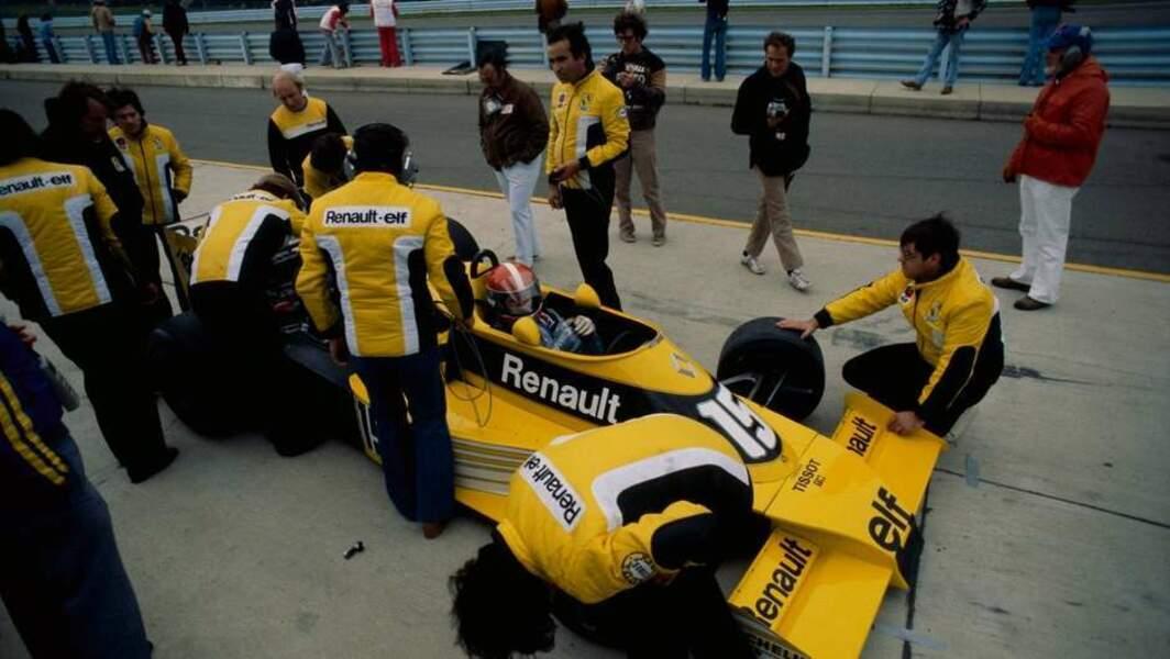 1977 : Renault s'engage en F1
