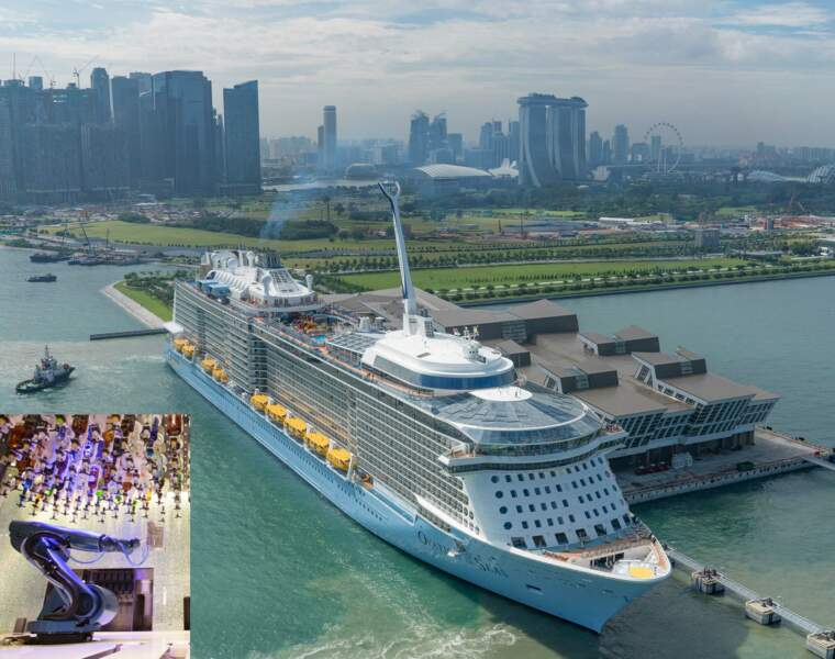 Ovation of the Seas : 347 mètres