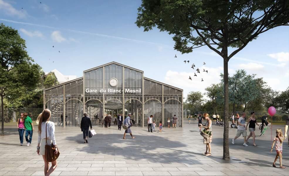 Gare du Blanc-Mesnil