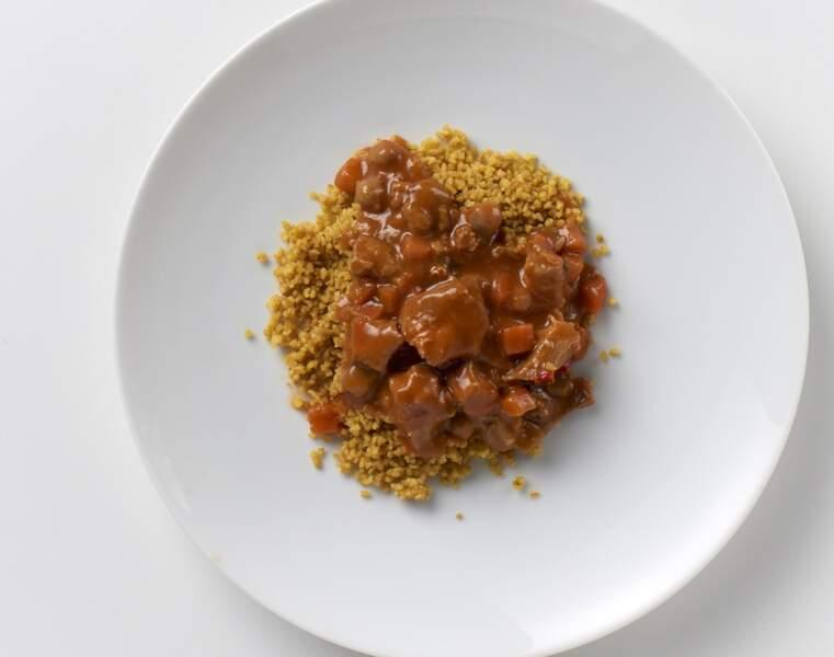 PAUL & LOUISE Couscous poulet boulgour : Pas réglo