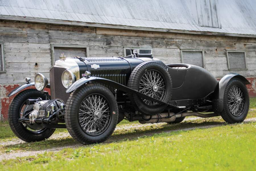 Bentley 41/2-Litre Supercharged Two-Seater Sports in the style of Vanden Plas