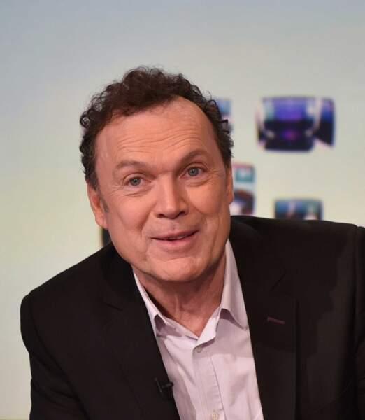 Julien Lepers, ex-animateur de France 3
