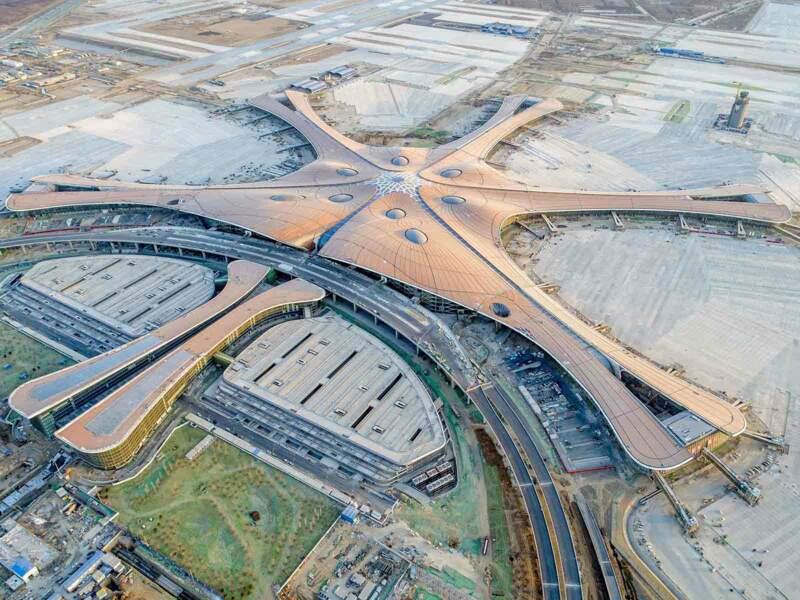 L'aéroport international de Pékin-Daxing