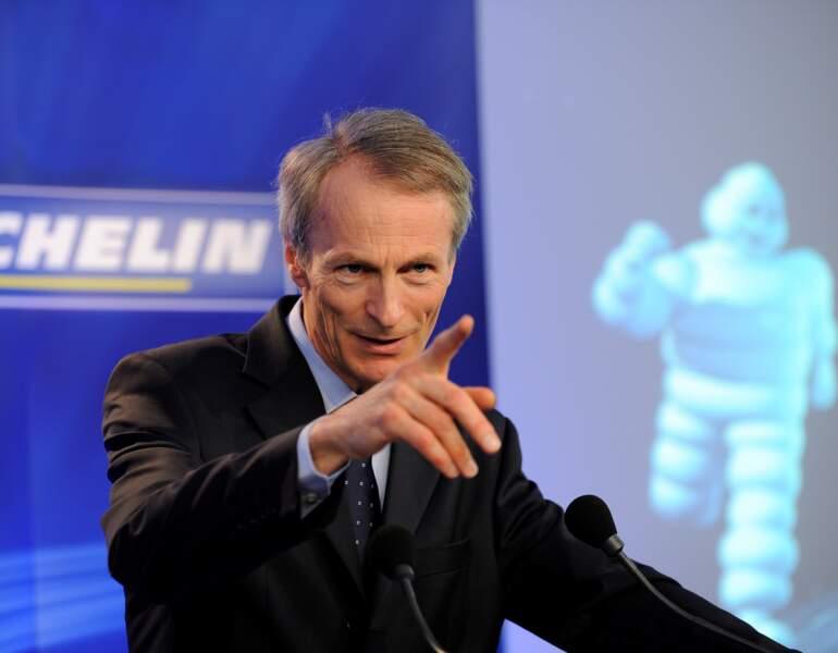 Le CV de Jean-Dominique Sénard, Président de Michelin