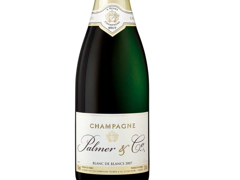 Champagne blanc de qualité proposé par British Airways