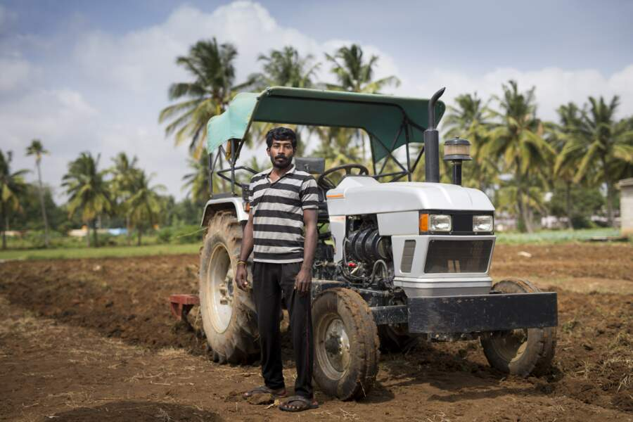 Les agriculteurs indiens placent dans l'or les recettes issues des récoltes